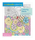 Adult Coloring Book-St. Martin\u0027s Press Zendoodle Calming Swirls