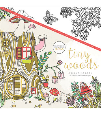 Kaisercraft KaiserColour Perfect Bound Coloring Book-Tiny Woods