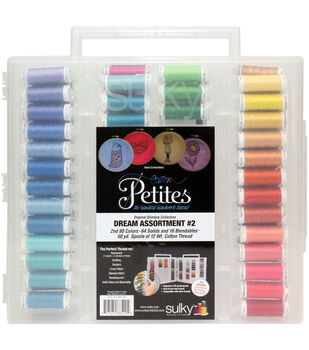Sulky Cotton Petites Slimline Assortment Threads-Dream 2
