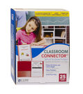 C-Line Classroom Connector School-To-Home Folders, Red, Box of 25
