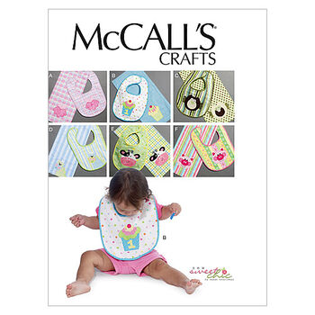 McCall's Pattern M6478 Infants' Bibs & Burp Cloths