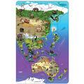 Dowling Magnets Wildlife Puzzle: Asia & Australia