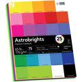 Astrobrights 75 pk 8.5\u0027\u0027x11\u0027\u0027 Premium Cardstock-Spectrum