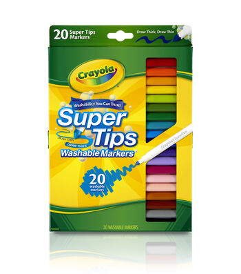 Crayola Super Tips Marker Set-20PK