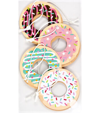 Jolee's Boutique 8 Pack 4''x7'' Donut Tags