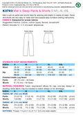 Kwik Sew Mens Sleep & Lounge-K3793