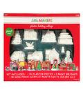 Little Maker\u0027s Plaster Kit-Holiday Village