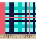 Blizzard Fleece Fabric 59\u0022-Prep Plaid