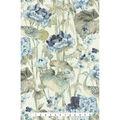 Waverly Upholstery Fabric 13x13\u0022 Swatch-Peace Garden Lake