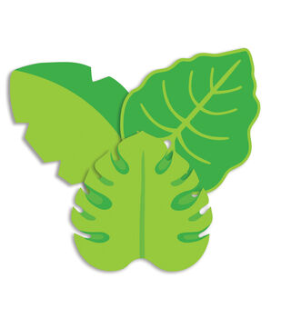 Eureka Paper Cut-Outs-Toucan Leaves