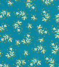 Quilter\u0027s Showcase Fabric -Ditsy Floral on Capri Breeze