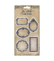 Tim Holtz Idea-Ology Metal Deco Frames 5/Pkg, , hi-res