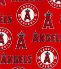Los Angeles Angels Fleece Fabric-Tossed