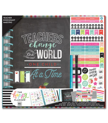 The Happy Planner Big Planner Box Kit-Teacher