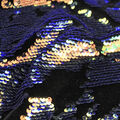Casa Embellish Ember Velvet Fabric-Abstract Reflective Sequin Cool