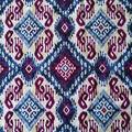 Summer Ponte Knit Fabric 57\u0027\u0027-Blue Multi Boho Kilim