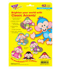 Color Monkeys Classic Accents Variety Pack, 36 Per Pack, 6 Packs