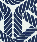 P/K Lifestyles Outdoor Fabric 54\u0022-Topsail Trellis Navy