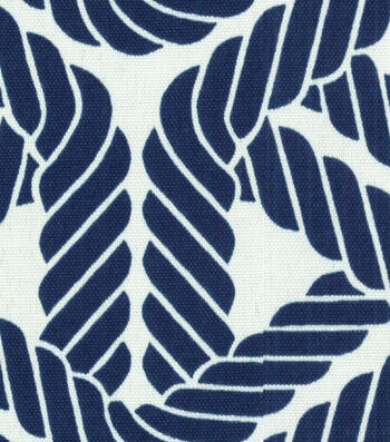 "P/K Lifestyles Outdoor Fabric 54""-Topsail Trellis Navy"