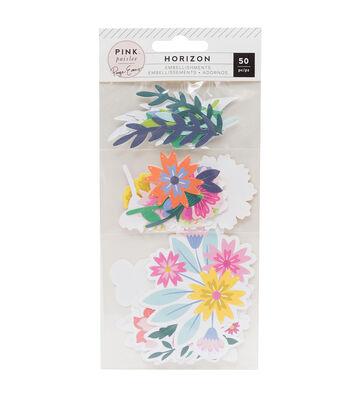 Paige Evans Horizon Cardstock Die-Cuts 50/Pkg-Mixed Floral