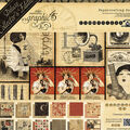 Graphic 45 Deluxe Collector\u0027s Edition Pack 12\u0022X12\u0022-Communique