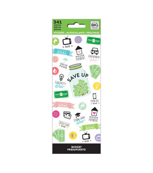 The Happy Planner 341 pk Stickers-Budget
