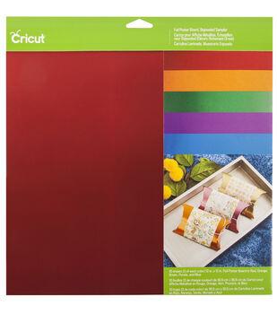 Cricut 12''x12'' Foil Poster Board Sampler-Bejeweled