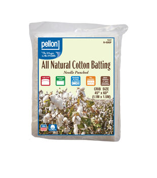 Pellon All Natural Cotton Batting-Crib