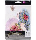 Prima Princesses Cling Stamp 5\u0022X7\u0022-Aubrey