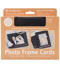 Strathmore Cards&Envelopes 5\u0027x7\u0022 10/Pkg-Black Photo Frame
