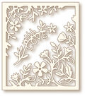 Wild Rose Studio Specialty Die-Flower Frame