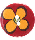 Crafting with Buttons Global Chic 2 pk 1\u0027\u0027 Wood Buttons-Fiji
