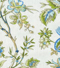 Waverly Upholstery Fabric 54\u0027\u0027-Bluebell Felicite