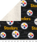 Pittsburgh Steelers Fleece Fabric-Sherpa