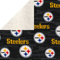 Pittsburgh Steelers Fleece Fabric-Sherpa