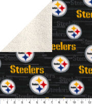 Pittsburgh Steelers Fleece Fabric-Sherpa, , hi-res