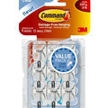 Command Small Clear Wire Hook Value Pack