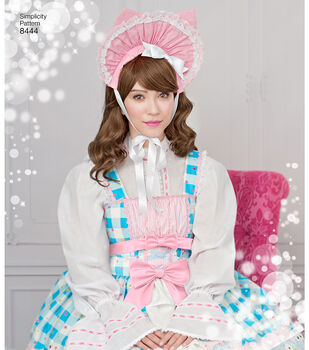 Simplicity Pattern 8444 Misses' Lolita Costume-Size P5 (12-14-16-18-20)