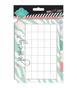 5x7 Calendar Cards