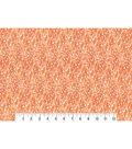 Modern Premium Cotton Print Fabric 43\u0027\u0027-Painted Tonal Orange