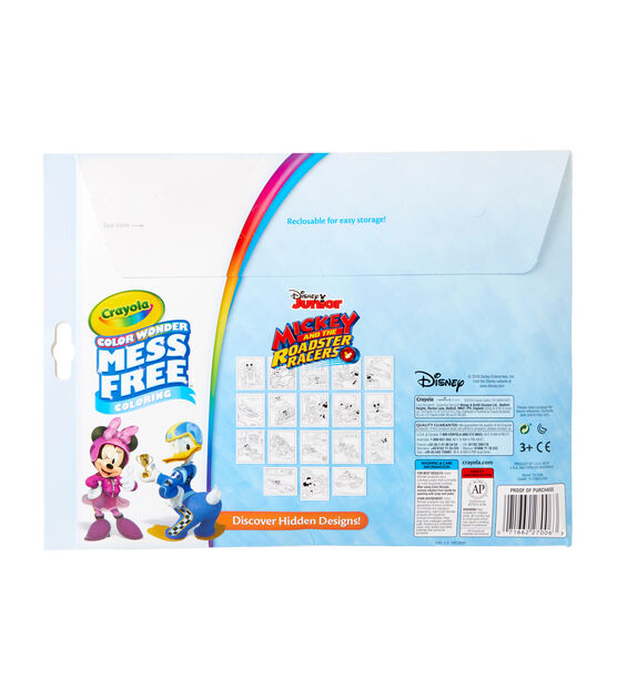 Crayola Color Wonder Coloring Pad Markers Mickey Mouse Clubhouse Joann