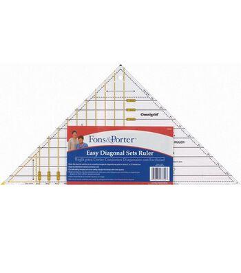 Fons & Porter Easy Diagonal Sets Ruler