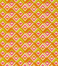 Home Decor Print Fabric-HGTV HOME Jagged Edge Passion Fruit
