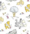 Nursery Flannel Fabric 43\u0022-Pooh