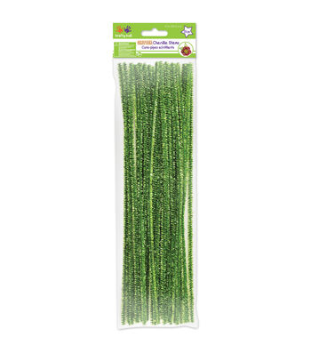 Krafty Kids Tinsel Chenille Stems
