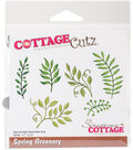 CottageCutz Die-Spring Greenery 0.7\u0022 To 2.4\u0022