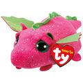 Ty Teeny Tys Plush Darby Dragon-Pink