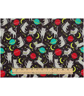 Novelty Cotton Fabric-Cats In Space