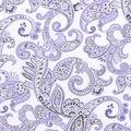 Nursery Cotton Fabric -Lilac Paisley
