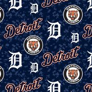 Detroit Tigers Fleece Fabric -Digital, , hi-res